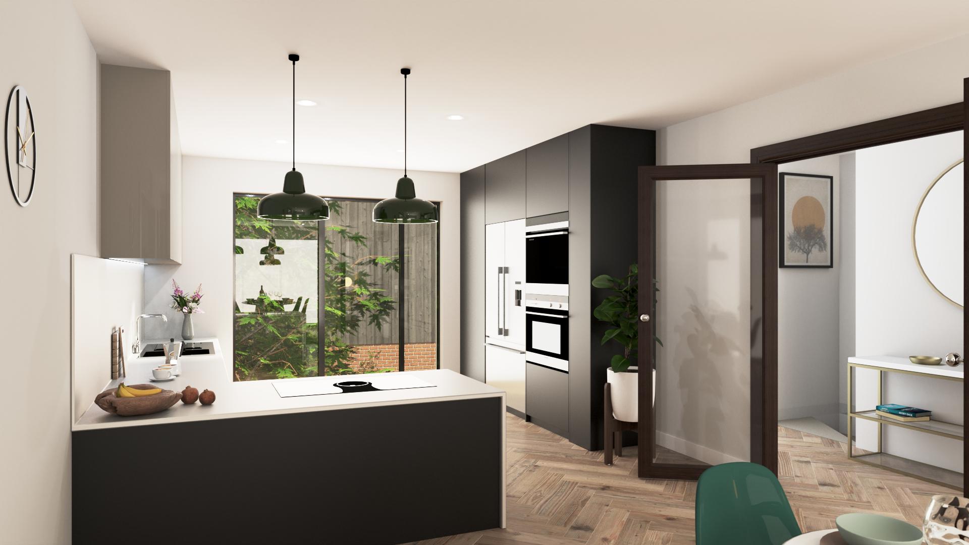 Kitchen CGI V9 – Selected