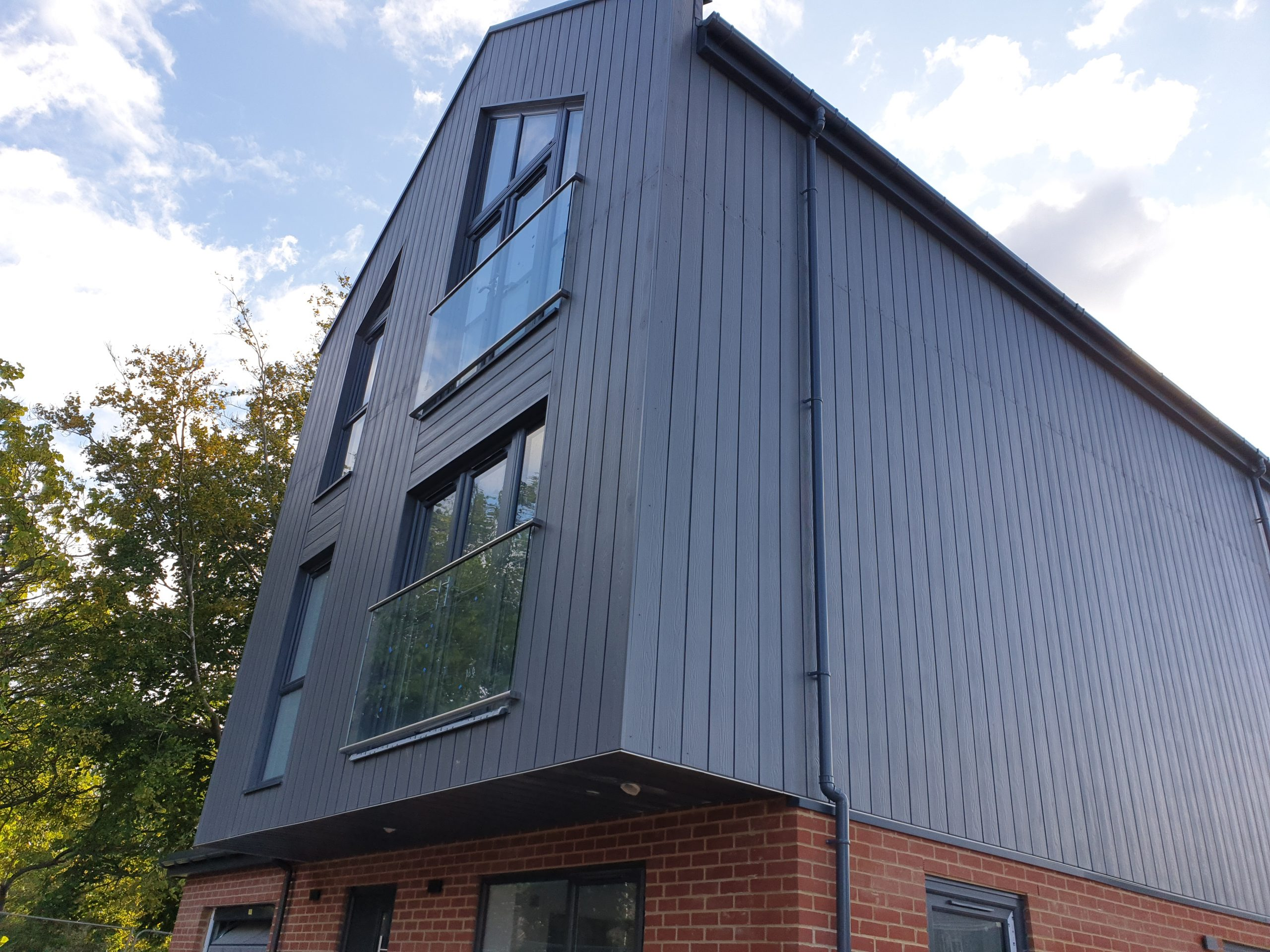 home at Lime Grove featuring timber and brick exterior