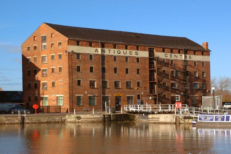 Lock Warehouse before photo