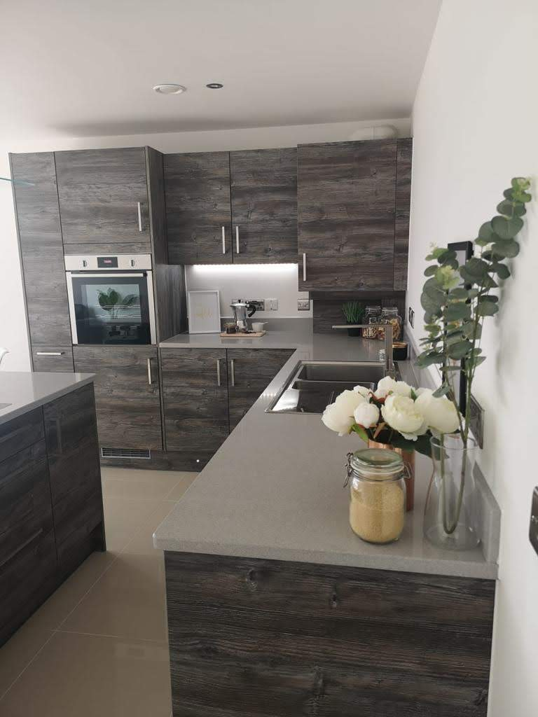 ONE62 kitchen, a residential development comprising six spacious apartments in Hythe.