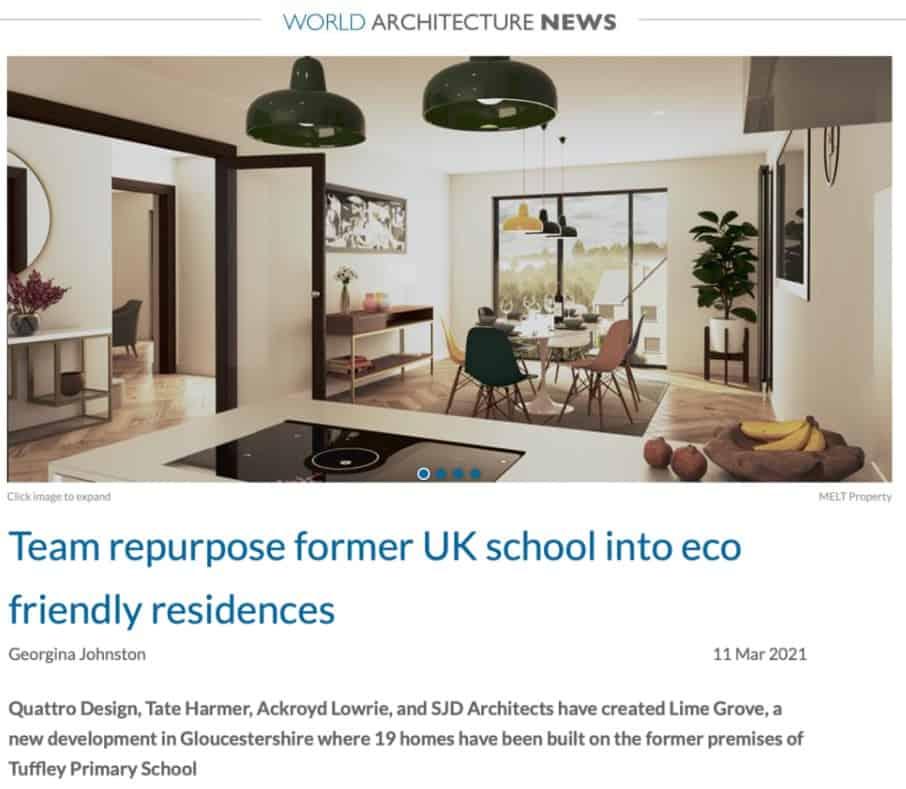 World Architecture News Coverage image